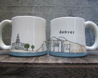 MADE TO ORDER ~ Denver Mug