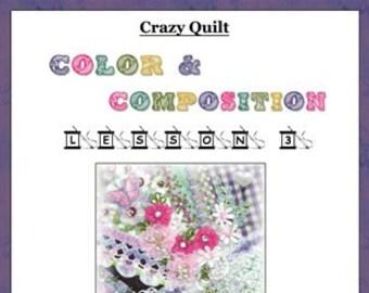 Crazy Quilt Block Pattern Rabbit Tales by Pamela Kellogg
