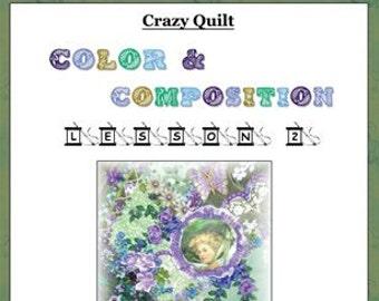 Crazy Quilt Block Pattern Lucky Charms by Pamela Kellogg