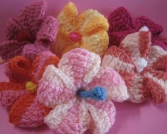 Hibiscus Crochet Pattern September Is Spring In Australia Etsy
