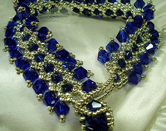 Tutorial for Hermitage Crystal Bracelet