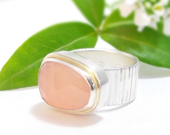 La Vie En Rose - Handmade Cocktail Ring