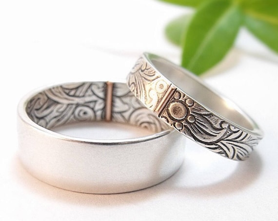 Sunflower Wedding Bands