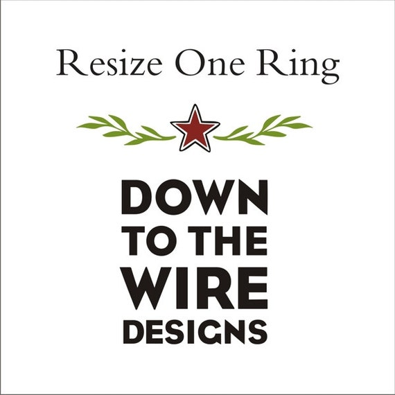Resize One Ring