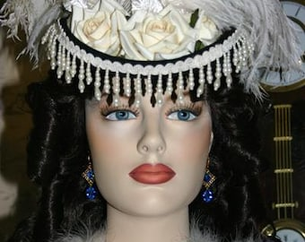 Victorian Fashion Hat