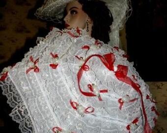 Victorian Parasol Edwardian Parasol Alice in Wonderland Parasol Fantasy Parasol - My Sweetheart