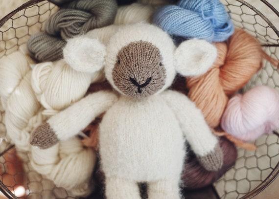 Pattern Lulu Lamb Classic Knitting Pattern Prop Toy Etsy