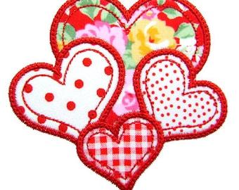 Valentine Applique, Heart Applique, Valentine Embroidery, Heart Embroidery, Valentine's Day, Machine Embroidery Heart, Instant Download
