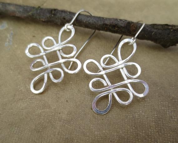 Schleifen von keltischen Knoten Sterling Silber Draht | Etsy