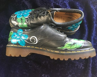 Hand painted Doc Martens