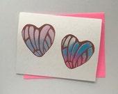 Concha Hearts Card 2019