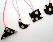 Cuatro Shapes Handmade Paper Ornaments
