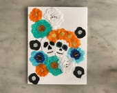 Day of The Dead Card - Los Abuelitos - Design 5