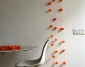 Three 10' - Handmade Hanging Cempasuchils Garland - Waterproof