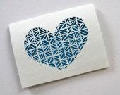 True Valentine Hand Cut Card 2008