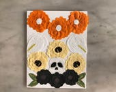 Day of The Dead Card - Flores - Design 3
