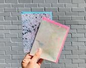 2 - Handpainted Glacier Cards 2012