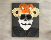 Day of The Dead Card - Design 4