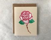Rose Card - 2018