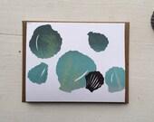 Little Shells Blank Card 2014