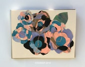 Chama Paper Flowers Greeting Card - 2016