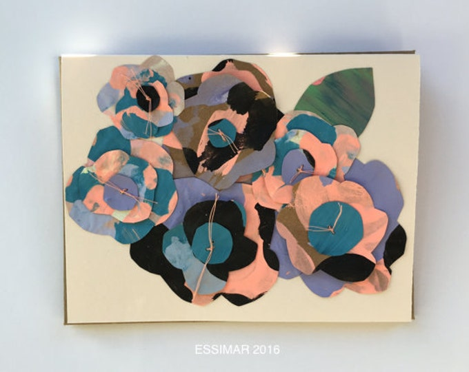 Featured listing image: Chama Paper Flowers Greeting Card - 2016
