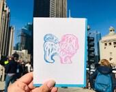 Hello Dog Card - 2019
