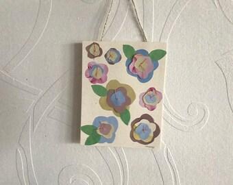 Hanging Flowers Notecard - Spring 2018