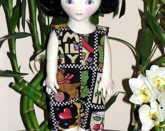Lil' Slip Sally Cloth Doll PDF Pattern