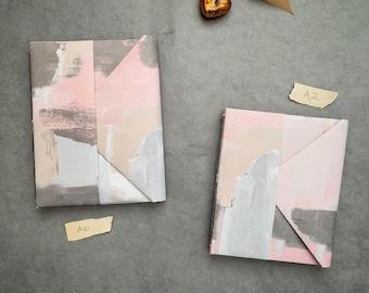 Softcover Journal, Envelope Journal, Brush Strokes