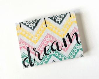 Envelope Journal - Medium Capsule Notebook - A6 - Dream - Black
