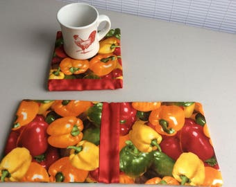 Hot Pad Buddy - Hot Peppers