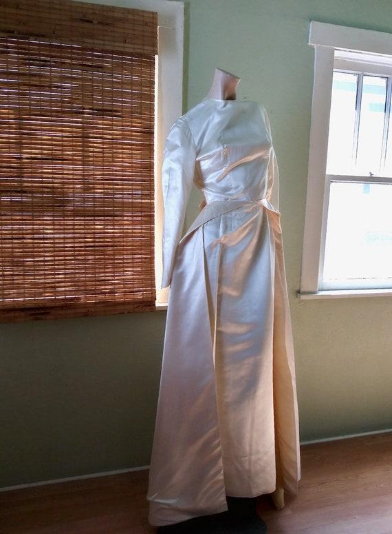 Vintage 1960s Bridal Gown 1960s Wedding Dress Sz S