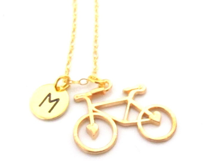 Bicycle Necklace,Bicycle Jewelry, Cycling Necklace,Cycling Jewelry,Womens Cycling Gift,Bicycle Gifts,Bicycle Girl Jewelry, Free Shipping USA