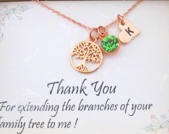 Mother of the Groom Necklace, Mother in Law Gift, Wedding Gift,Rehearsal Dinner Presents,Gift from Bride, Gift for Mother in Law, MIL Gift,