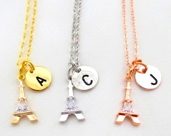 Eiffel Tower Necklace,Paris Eiffel Tower Necklace, Paris souvenir gift,City Necklace, Eiffel Tower Jewelry,France Necklace,Free Shipping USA