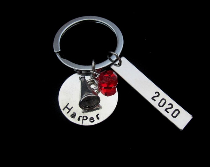 Cheerleader Gifts,  Cheer Squad team jewelry, Personalized Cheer Keychain Cheerleader Keychain - Cheer Team Gift - Cheer Leading, Gift