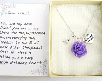 Special Friend Gift Personalized Birthday Best Mom Free Shipping In USA