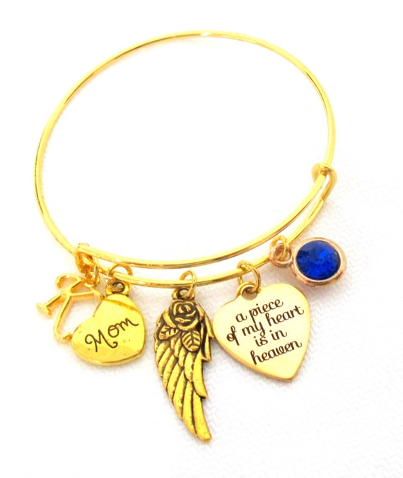 Mom Memorial Bracelet,Remembering Mom,Grief,Loss of Loved Ones,Sympathy gift,Remembrance, In memory of dad,grandma,sister, Free Shipping USA