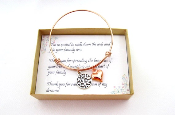 Mother of the Groom Necklace, Mother in Law Gift, Wedding,Rehearsal Dinner Presents Wedding Gift, Mother of Bride  Future Mother in Law Gift