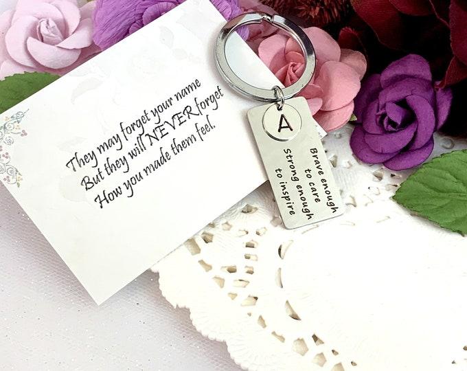 Appreciation Gift for Nurse, Nurse Appreciation Gift Keychain, Work Team Gift, Thank you Gift, Employee Gift Coworker GiftRN Gift, Team Gift