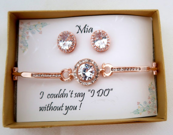 Gift for Mom,Gift for Mom from Daughter Christmas Gift  Friend Birthday Gift,CZ Bridesmaid jewelry,Wedding Anniversary Gift, Free Shipp