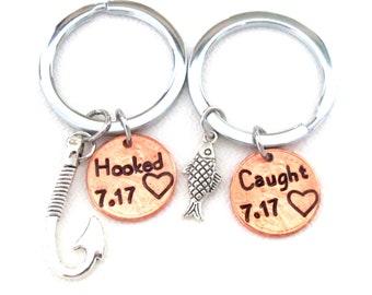 Anniversary Gift, Wedding Gift,Gift for Men, Girlfriend, Boyfriend,Wife, Husband,,Custom Couple Gift,Valentine Gift, Hooked & Cought gift
