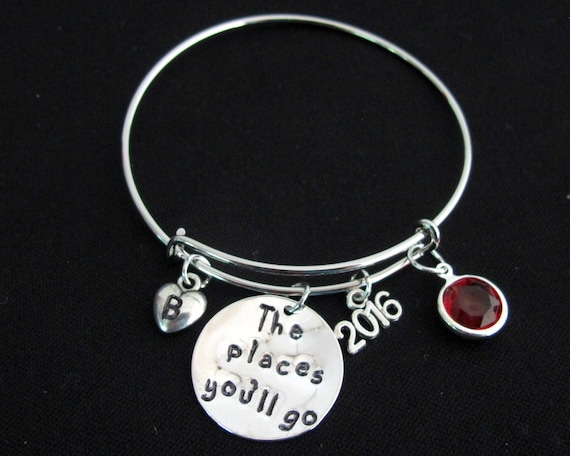 2019 Graduation gift for daughter,Graduation gifts for her,Class of 2019 Graduation Bracelet,Graduation gifts for girls,Graduation Jewelry