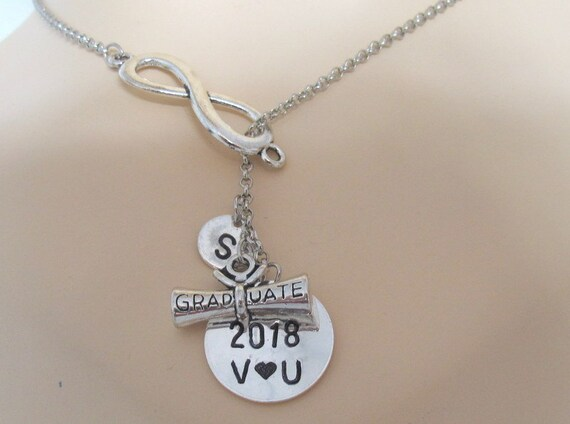 Graduation Necklace,Graduation gift for her High School Grad,College Grad,Grad gift for daughter,Gift to say We love you, Free Shipping USA