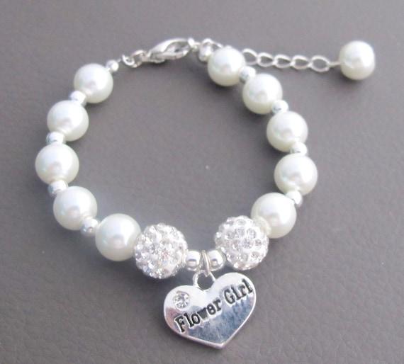 Flower Girl Bracelet,Ask Flower Girl,Will You be my Flower Girl Gift,Junior Bridesmaid Bracelet,Childrens Jewelry,Free Shipping USA