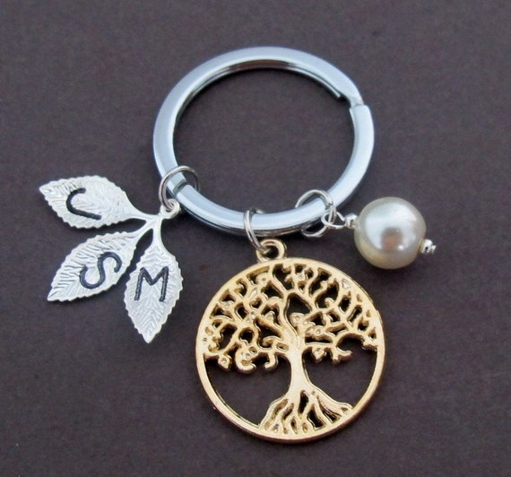 Life Tree keychain,Family Tree Mother Jewelry, Mom gift,Grandma,Gift For,Sister,Mimi,Family gift,Sister In law gift, Free Shipping In USA