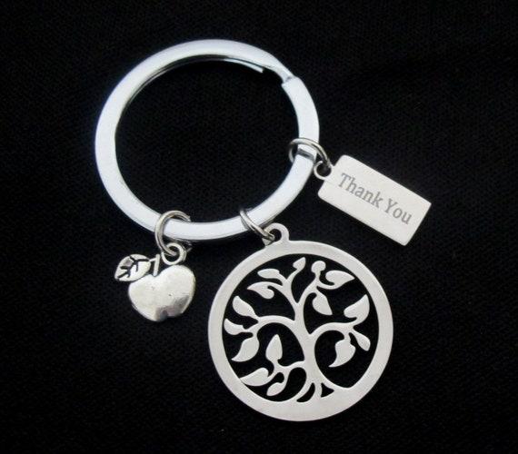 Personalized Teacher Key Chain,Personalized Teacher gift,Thank You,Teacher Appreciation,Teacher Christmas gift,Leaving gift,Free Shipping