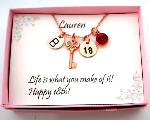 18th Birthday Necklace,Age Tag  Necklace,Personalized Birthday Gift For Her,Birthday Jewelry,Custom Birthday Date Necklace,Free Shipping USA