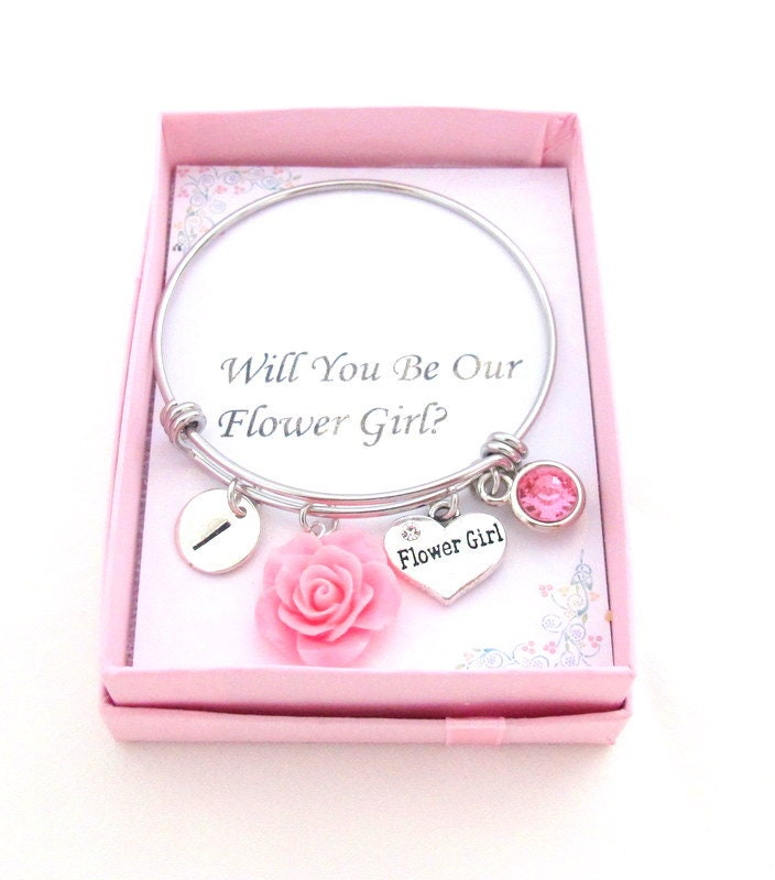 Flower Girl Proposalwill You Be Our Flower Girlflower Girl Gift